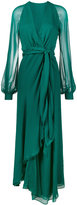 Haney Coco Full Length Chiffon Dress
