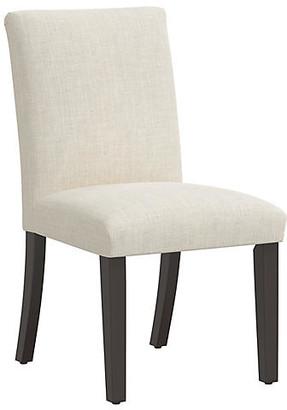 One Kings Lane Shannon Side Chair - Talc Linen