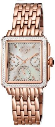 Gevril Women's Bari Diamond Quartz Watch, 30mm - 0.004 ctw