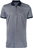 Ermenegildo Zegna zip-up polo shirt - men - Silk/Cotton - 46