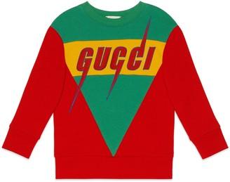 Gucci Children's sweatshirt with Blade