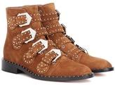 Givenchy Elegant Embellished Suede Boots