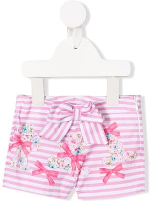 Miss Blumarine Bow Detail Shorts