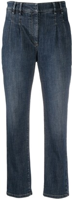 Brunello Cucinelli Mid-Rise Mom Jeans