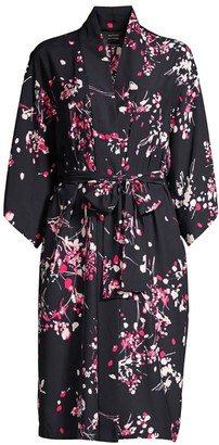Natori Matsuri Floral Robe