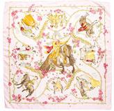 Hermes Le Petit Princes Silk Scarf