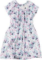 Carter's Short-Sleeve Neon Print Floral Dress - Toddler Girls 2t-5t