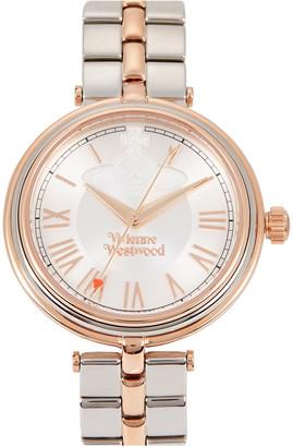 Vivienne Westwood Farringdon two-tone watch