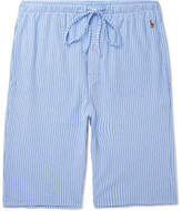 Polo Ralph Lauren Striped Cotton Pyjama Shorts - Blue