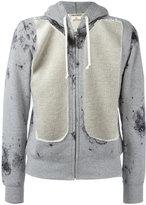 Comme des Garcons cut out panel hoodie