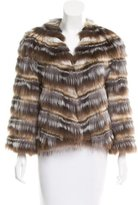Glamour Puss Glamourpuss Fur Paneled Jacket w/ Tags