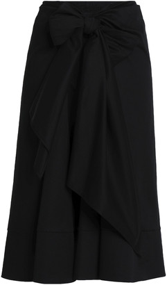Tome Stretch-cotton Gabardine Midi Skirt