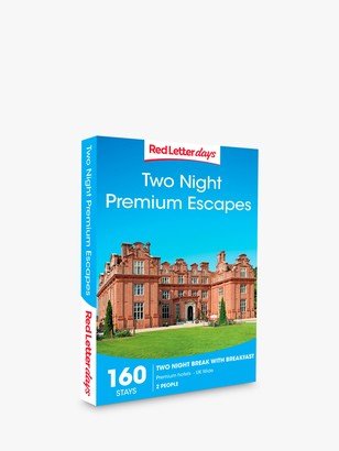 Red Letter Days Two Night Premium Escapes Gift Experience