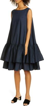 Merlette New York Cevenne Drop Waist Ruffle Dress