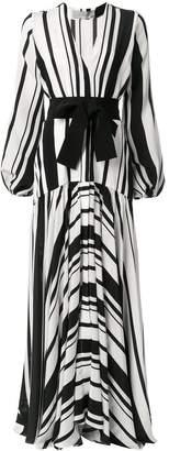 Silvia Tcherassi Filomena striped silk dress