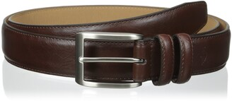 Dockers Big-Tall 1 3/8 in. Feather with Logo Stitch Belt 48