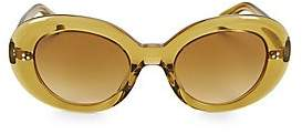 Oliver Peoples Women's Erissa 52MM Oval Sunglasses