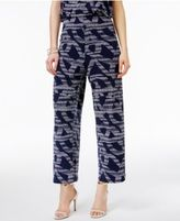 Alfani Knit Cropped Culottes, Created for Macy's
