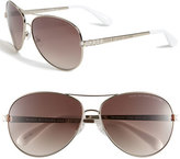 MARC BY MARC JACOBS 60mm Aviator Sunglasses