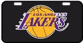 "Custom Personalized Diy Los Angeles Lakers Metal Car License Plate Design Custom Car Tag 12""x6""-10"