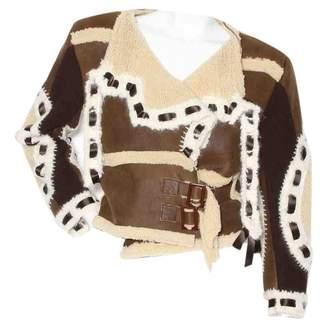 Christian Dior Brown Shearling Jackets