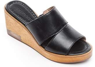 Bernardo Leather Slip On Wedges - Kara