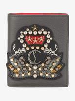 Christian Louboutin Paros embellished wallet