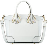 Christian Louboutin Eloise Small Leather Tote Bag, White