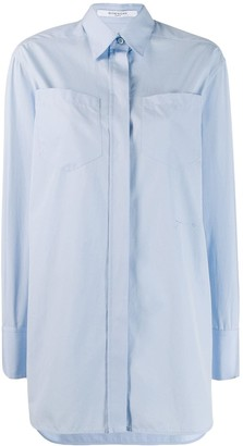 Givenchy tailored concealed button shirt