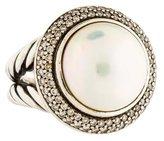 David Yurman Pearl & Diamond Cerise Ring