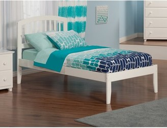Viv + Rae Timmy Platform Bed Bed Frame Color: White, Size: Twin XL