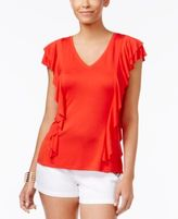 Thalia Sodi Ruffled Top, Only at Macy's