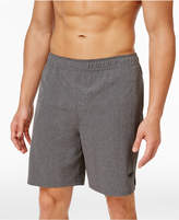 Speedo Men's Heathered Volley Swim Trunks