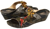 Spring Step Tropic (Blue Leather) - Footwear