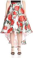 Gracia Women's Flower Print Skirt