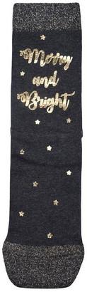 Pretty Polly Merry Xmas Socks