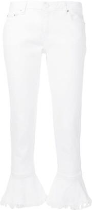 MICHAEL Michael Kors Izzy flounce jeans