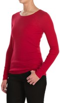 Jones New York Rib-Knit Sweater - Merino Wool For Women)