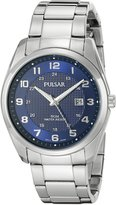 Pulsar Men's PH9069 Analog Display Analog Quartz Silver Watch