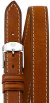 Michele 16mm Double-Wrap Leather Strap