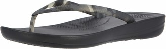FitFlop Women's Iqushion Tortoiseshell Beach & Pool Shoes