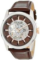 Kenneth Cole New York Men's 10019488 Automatic Analog Display Japanese Automatic Brown Watch