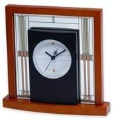 Bulova Willits Table Clock in Cherry