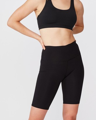 Cotton On Body Active High-Waisted Mid-Length Bike Shorts