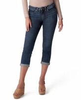 Thumbnail for your product : Silver Jeans Co. Suki Curvy-Fit Cropped Jeans