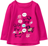Gymboree Vibrant Pink World Dogs Graphic Tee - Infant & Toddler