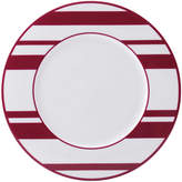 Mikasa Color Studio Fuchsia Stripe Accent Plate