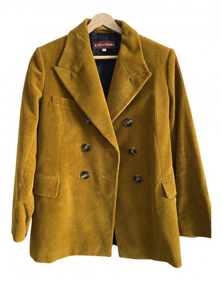 ALEXACHUNG Alexa Chung Gold Cotton Jackets