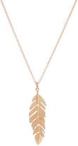 Carole Goldtone Leaf Pendant Necklace