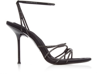 Alexander Wang Sienna Bungee Leather Heeled Sandals